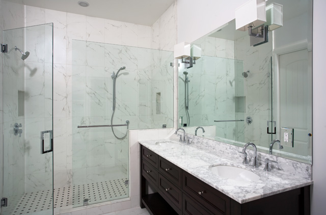 San Mateo Master Bath bathroom remodel