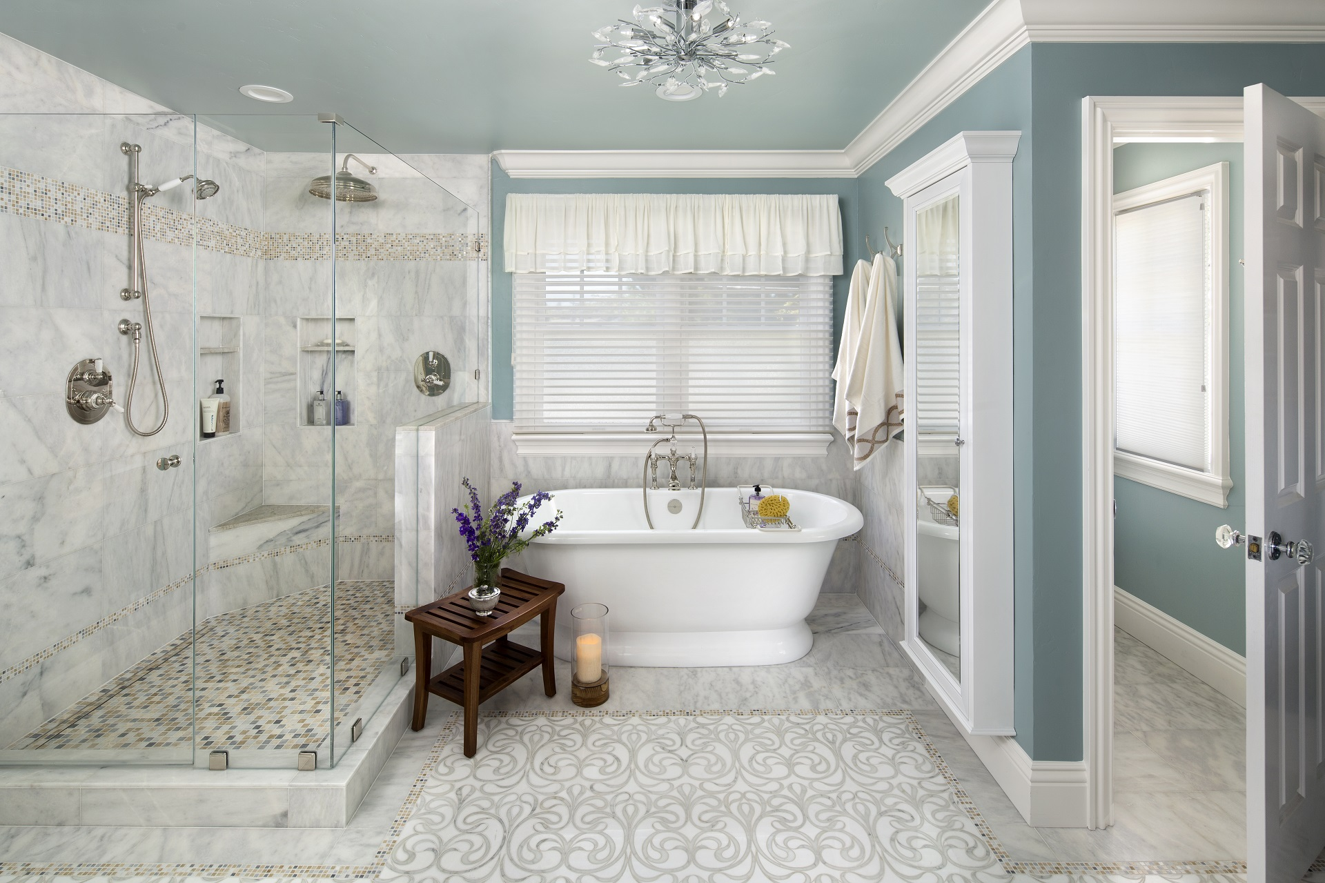 Master Bathroom Remodel Inspiration - Valley Home Builder